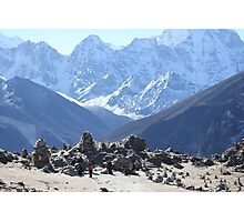 The fallen Heroes of Everest Photographic Print