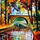 Delightful Park — Buy Now Link - www.etsy.com/listing/214095516 by Leonid  Afremov