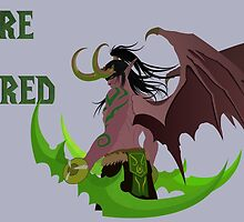 Illidan Stormrage (World of Warcraft) by Wildfiree