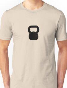 Kettlebell WOD Black Unisex T-Shirt