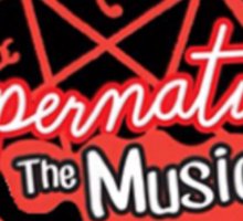 Supernatural The Musical (200th Episode) Print Sticker