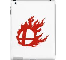 Red Smash Ball iPad Case/Skin