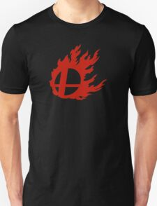 Red Smash Ball Unisex T-Shirt