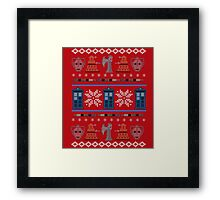 Home for the Who-lidays Framed Print