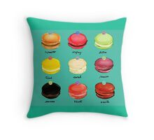 Diamond Macaron Throw Pillow