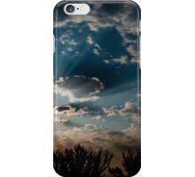 Moonlit clouds. iPhone Case/Skin