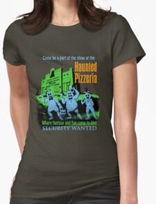 The Haunted Pizzeria Womens Fitted T-Shirt