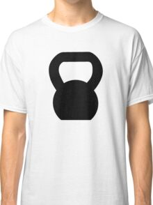 Kettlebell WOD Black Large Classic T-Shirt