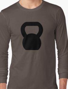 Kettlebell WOD Black Large Long Sleeve T-Shirt