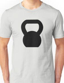 Kettlebell WOD Black Large Unisex T-Shirt