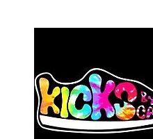 kicks by carly logo by cfleischer