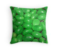 Green Beans Throw Pillow