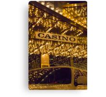 Casino Limo Canvas Print