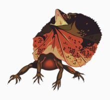 Frilled-neck lizard by marie martin