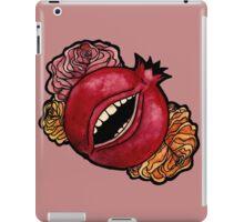 She has teeth iPad Case/Skin