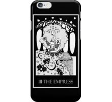 The Empress (card form) iPhone Case/Skin