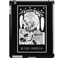 The Empress (card form) iPad Case/Skin