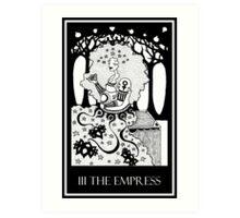 The Empress (card form) Art Print