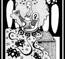 The Empress (card form) by sealskinstudios