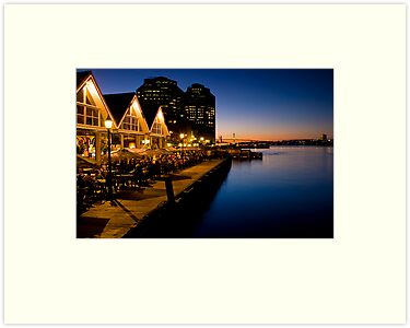 Halifax Waterfront Dusk by Sandy  McClearn