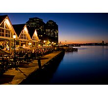 Halifax Waterfront Dusk Photographic Print