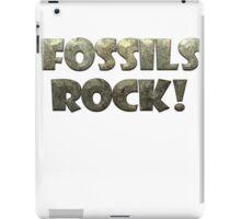 Fossils Rock! iPad Case/Skin