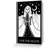 The Moon (card form) Greeting Card