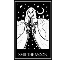 The Moon (card form) Photographic Print