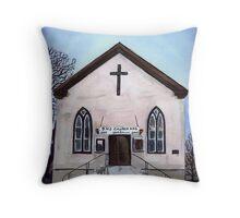 Salem Chapel Throw Pillow