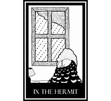 The Hermit (card form) Photographic Print