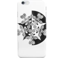 Two worlds collide by John H Potter iPhone Case/Skin