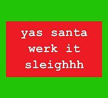 Yas Santa by gabby-gator