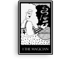 The Magician (card form) Canvas Print