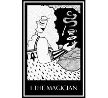 The Magician (card form) Photographic Print