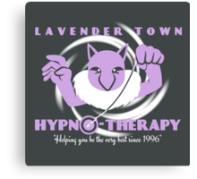 Lavender Town Hypno-Therapy 2.0 Canvas Print