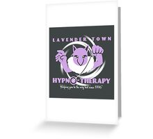 Lavender Town Hypno-Therapy 2.0 Greeting Card