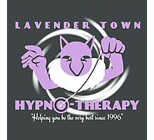 Lavender Town Hypno-Therapy 2.0 Photographic Print