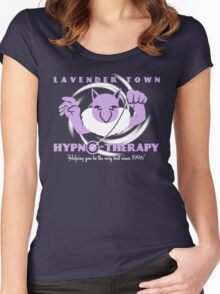 Lavender Town Hypno-Therapy 2.0 Women's Fitted Scoop T-Shirt