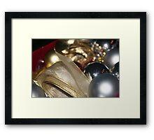 Packing Christmas Away 2 Framed Print