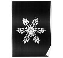 John H Potter snowflake Poster