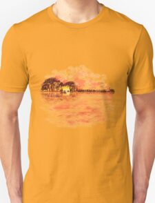 Musical Sunset Unisex T-Shirt