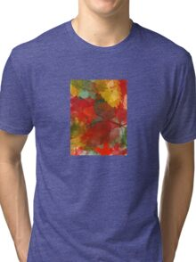 Autumn Collage Tri-blend T-Shirt