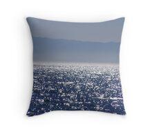 Light Reflected Ocean Throw Pillow