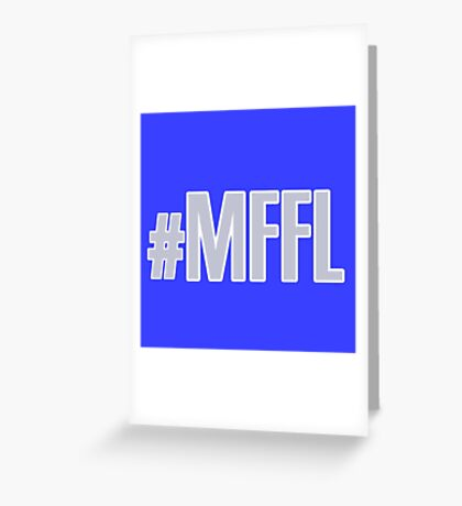 MAVS FAN FOR LIFE Greeting Card