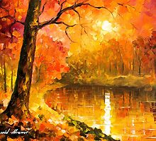 Over The Horizon — Buy Now Link - www.etsy.com/listing/213074100 by Leonid  Afremov