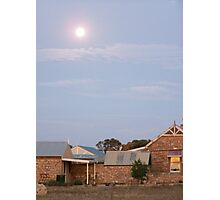 Sunset's Moonrise, Southern Yorke Peninsula, South Australia Photographic Print