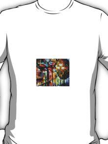 Amsterdam, Night Rain — Buy Now Link - www.etsy.com/listing/213560287 T-Shirt