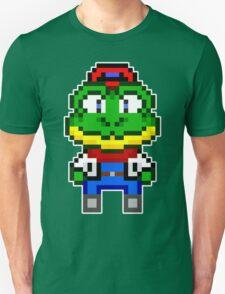 Slippy Toad - Star Fox Team Mini Pixel Unisex T-Shirt
