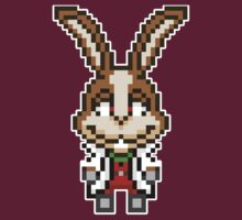 Peppy Hare - Star Fox Team Mini Pixel by geekmythology