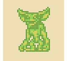 """Gremlins """"Don't Feed After Midnight."""" Gizmo Movie 8-bit Stripe Photographic Print"""